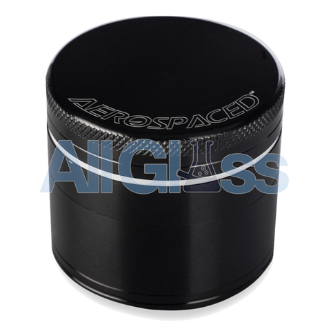 AEROSPACED 4 Piece Grinder/Sifter with Removable Screen , Vaporizer Accessories - VapeWorld, AllGlass.com