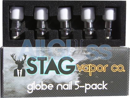 Extra Nail for Glass Globe Attachment , Vaporizers - STAG Vapor Co., AllGlass.com  - 1