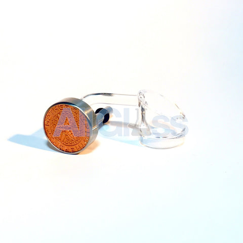 Mothership Glass XL Quartz Swing - Left Handed Copper/Rose Gold Dial , Glass Concentrate Accessory - AllGlass.com, AllGlass.com  - 1