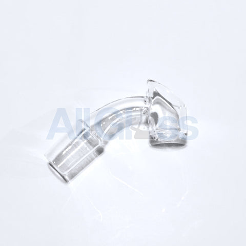 Evan Shore Quartz Bangarang - Flame Polished 45 Degree 14mm Male , Glass Concentrate Accessory - AllGlass.com, AllGlass.com