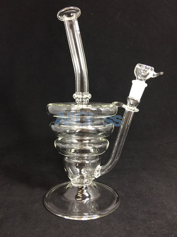 East 8th Glass Scientific Hive Tube Waterpipe - 14mm