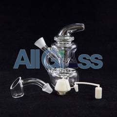 Merlin Martian King Toke MJ Arsenal Joint Cone Blunt Bubbler Recycler Travel Mini Oil Rig
