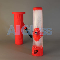 EYCE 2.0 - Ice Water Bong Waterpipe Mold Kit - Red , Glass Waterpipe - VapeWorld, AllGlass.com  - 2