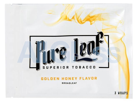 Shine Pure Leaf Wraps - Golden Honey