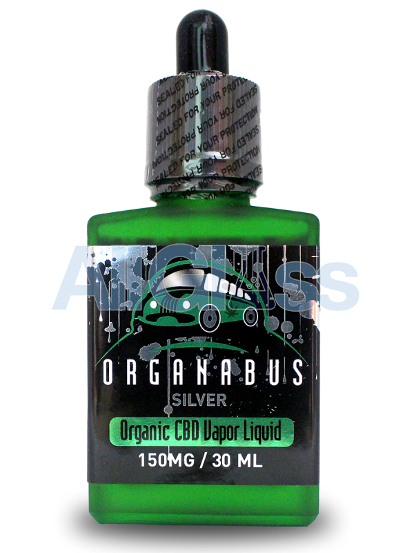 Organabus Organic Hypnotic Silver CBD E-Juice  - 150mg [30ml Bottle]