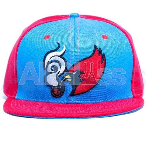 Grassroots Clothing Coughing Cardinal Fitted Hat , Apparel - AllGlass.com, AllGlass.com