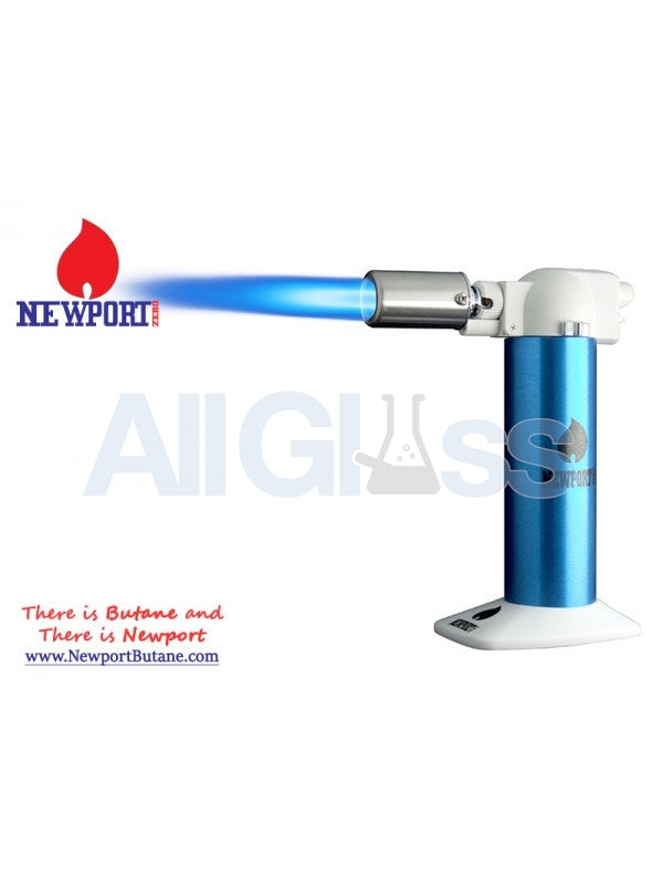 "Newport Zero 6"" Regular Torch - Blue , Smoking Accessory - Newport Butane, AllGlass.com"