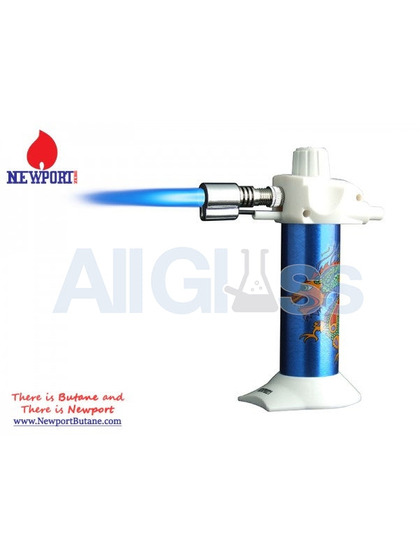 "Newport Zero 5.5"" Mini Torch - Blue Dragon , Smoking Accessory - Newport Butane, AllGlass.com  - 1"