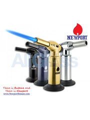"Newport Zero 10"" Jumbo Torch - Gold , Smoking Accessory - Newport Butane, AllGlass.com  - 2"
