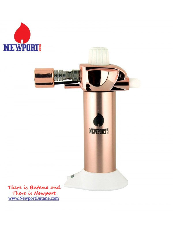 "Newport Zero 5.5"" Mini Torch - Rose Gold , Smoking Accessory - Newport Butane, AllGlass.com  - 1"