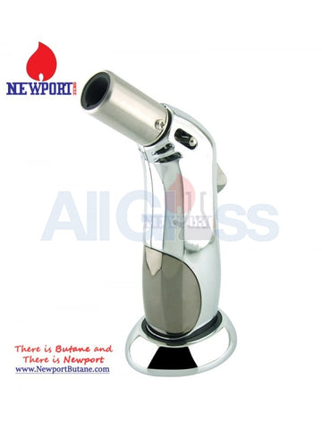 Newport Zero Zee Royal Torch - Silver , Smoking Accessory - Newport Butane, AllGlass.com
