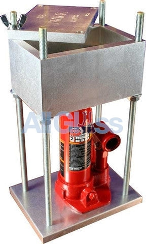 High Tech Pipes - The Brick Press 2 Ton Press , Concentrate Accessory - High Tech Pipes, AllGlass.com