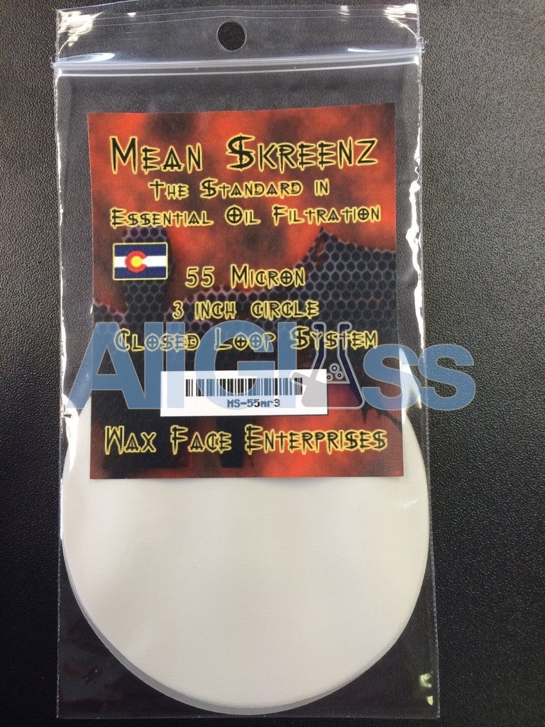 Mean Skreenz Essential Oil Filters - Round , Concentrate Accessory - Mean Skreenz, AllGlass.com