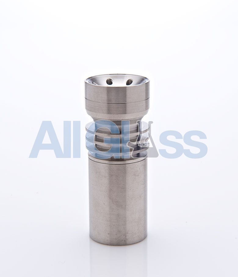 PURR Glass 19mm Domeless Titanium Nail , Concentrate Accessory - PURR Glass, AllGlass.com
