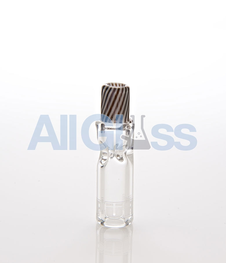 PURR Glass Smokey Cigarette Glass Tip - Clear/Jail , Concentrate Accessory - PURR Glass, AllGlass.com
