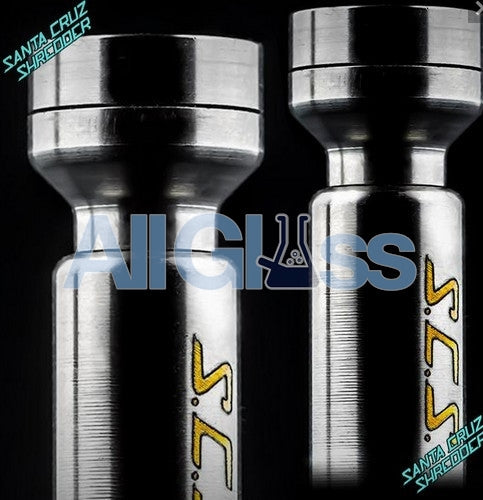 Santa Cruz Shredder OMNI Domeless Titanium Nail - 10/11mm , Concentrate Accessory - SantaCruzShredder, AllGlass.com
