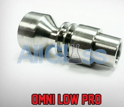Santa Cruz Shredder Omni Low Pro Male Titanium Nail - 14/18mm , Concentrate Accessory - SantaCruzShredder, AllGlass.com