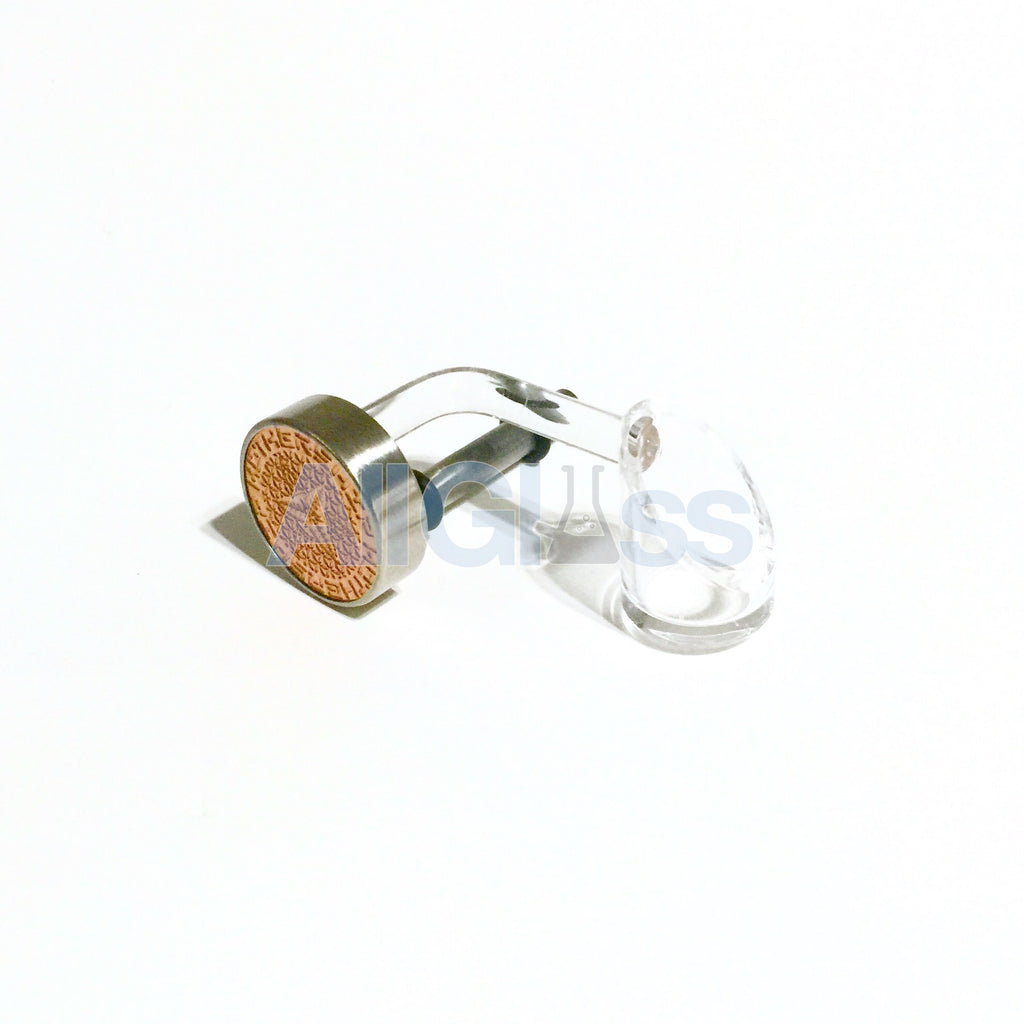 Mothership Glass Quartz Swing - Left Handed Copper/Rose Gold Dial , Glass Concentrate Accessory - AllGlass.com, AllGlass.com  - 1