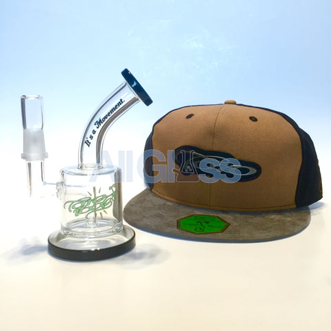 TORO Glass x Grassroots California Collaboration MAC XL - Brown Snapback , Glass Waterpipe - AllGlass.com, AllGlass.com