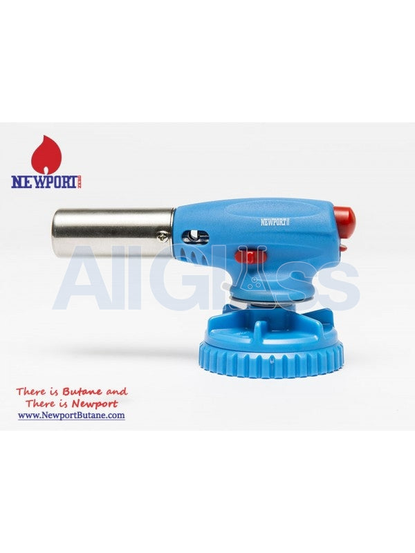 Newport Zero Fit on Top Torch - Blue , Smoking Accessory - Newport Butane, AllGlass.com  - 1