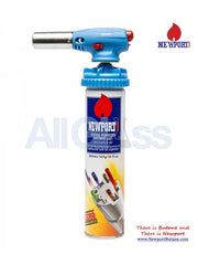 Newport Zero Fit on Top Torch - Blue , Smoking Accessory - Newport Butane, AllGlass.com  - 3