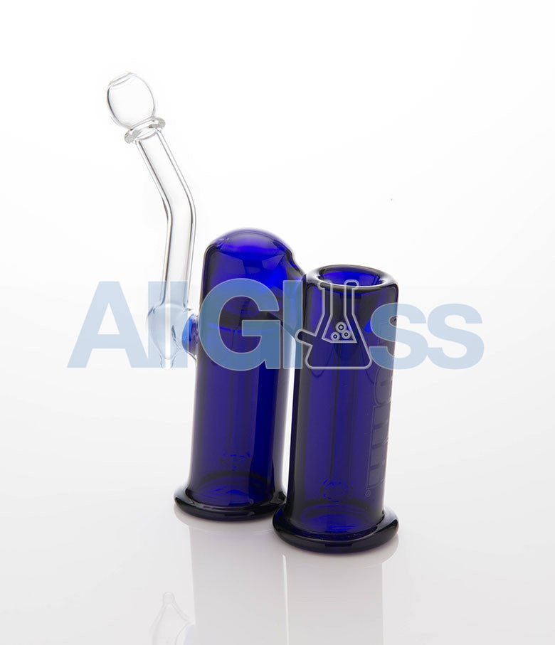 PURR Glass Full Double - Blue , Flower - PURR Glass, AllGlass.com