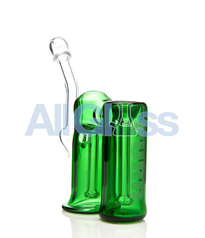 PURR Glass Full Double - Green , Flower - PURR Glass, AllGlass.com
