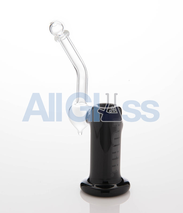 PURR Glass Pocket Sherlock - Black , Flower - PURR Glass, AllGlass.com