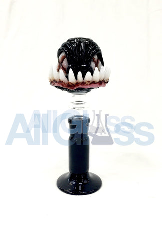 Jonathan Casto Glass Fish Demon Dome , Glass Concentrate Accessory - Roula Glass, AllGlass.com