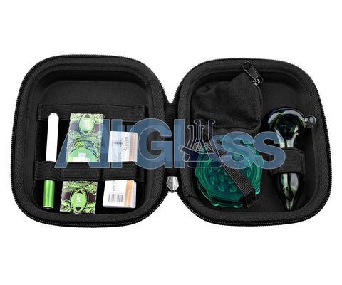 The Happy Kit - All in One Smoking Kit , Glass Handpipe - HappyKit, AllGlass.com