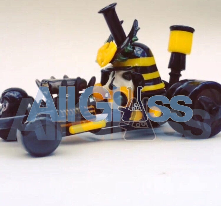 HOPS Glass x Hoobs Glass Wu-Tang Clan Car Rig , Glass Waterpipe - Roula Glass, AllGlass.com