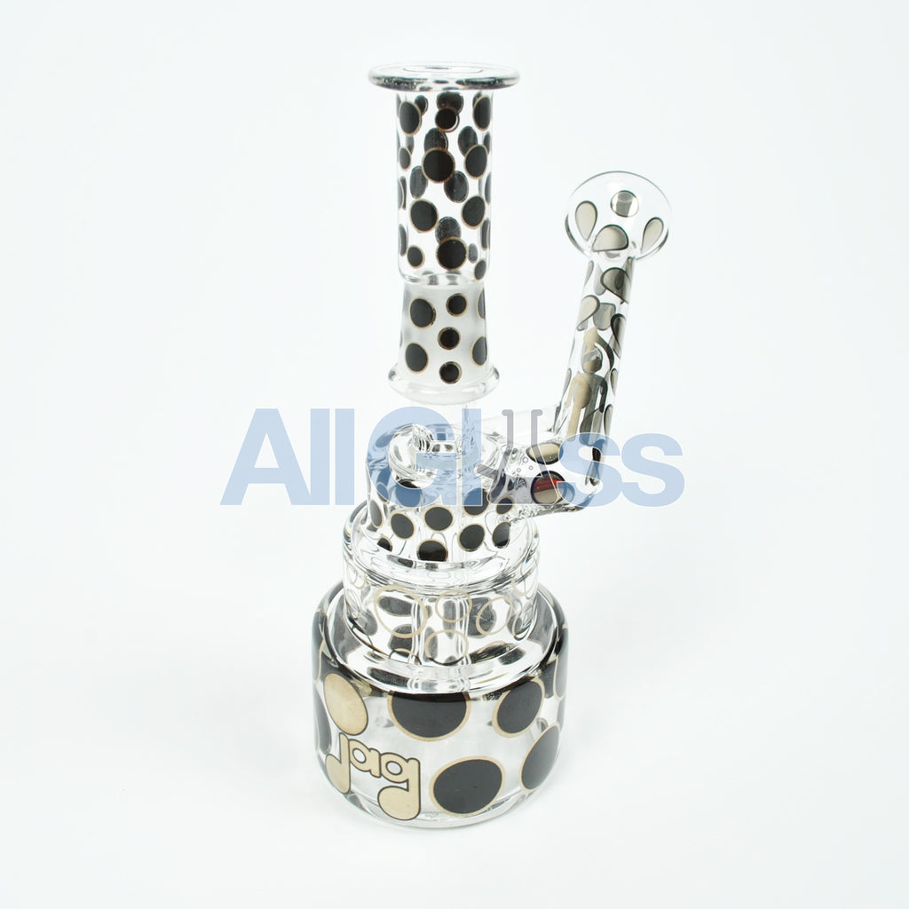JAG x Hitman Glass Cake Rig w/ Phase 2 Perc Collab , Glass Waterpipe - AllGlass.com, AllGlass.com