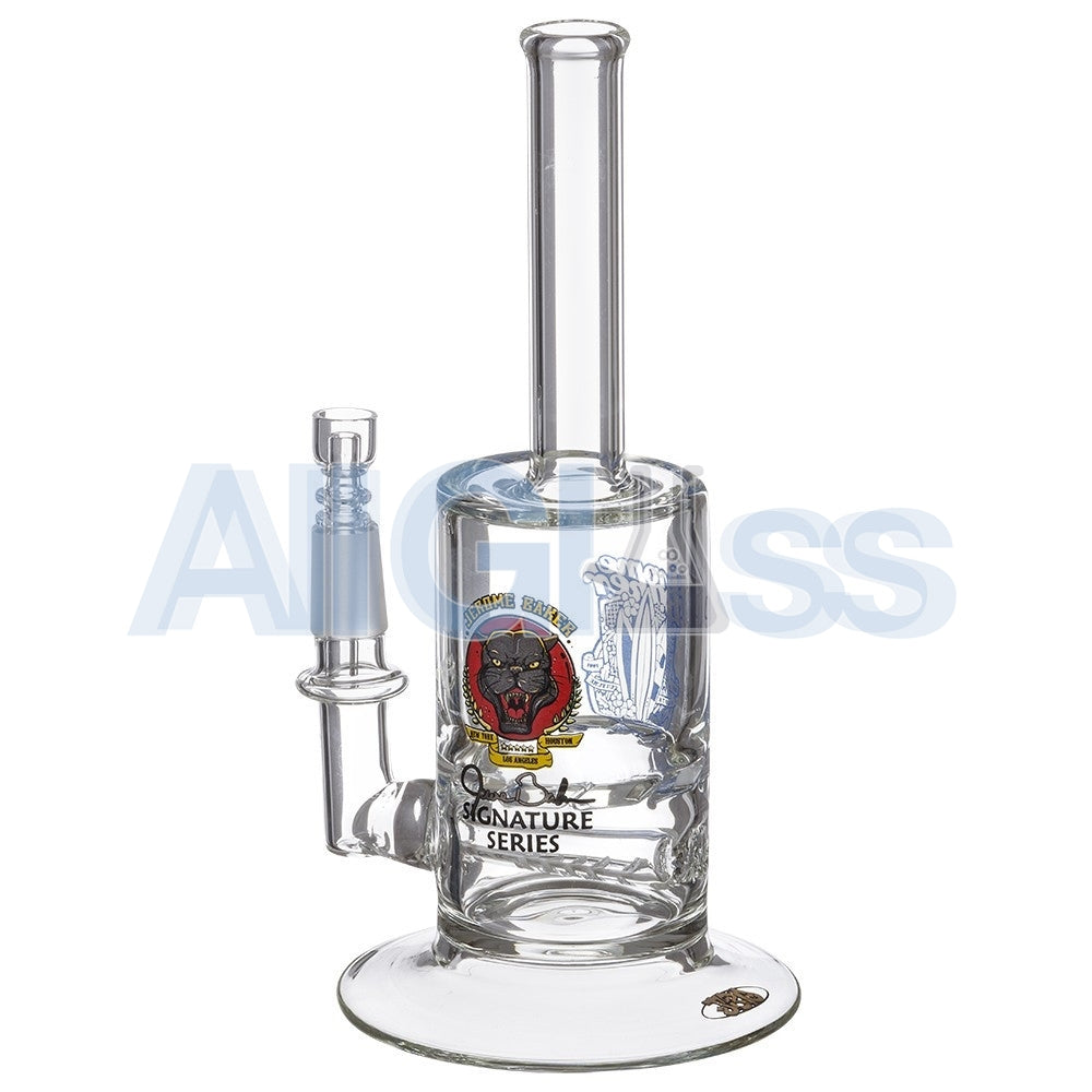 Jerome Baker Designs Signature Series Vapor Oil Rig with Slitted Inline Perc & Turbine Disc , Glass Waterpipe - Jerome Baker Designs, AllGlass.com