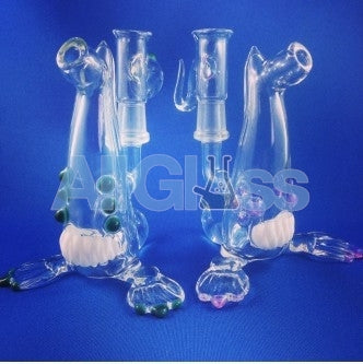 Kahuna Glass Clear Scalien Sporeling , Glass Waterpipe - Kahuna Glass, AllGlass.com