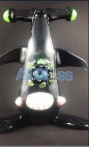 Kahuna Glass Shalien (Shark Scalien) Kreature , Glass Waterpipe - Kahuna Glass, AllGlass.com