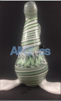 Kahuna Glass Unique Line-work Scalien Sporeling , Glass Waterpipe - Kahuna Glass, AllGlass.com