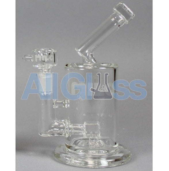 MILQ Glass Jug Series Single Signature Perc Waterpipe , Glass Waterpipe - MILQ Glass, AllGlass.com