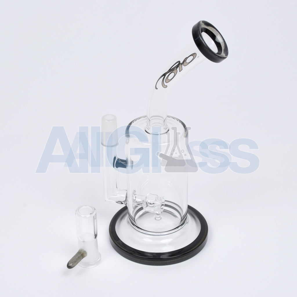 TORO Glass Black/Dark Matter Jetline Rig , Glass Waterpipe - NYG&G, AllGlass.com