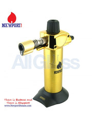 "Newport Zero 5.5"" Mini Torch - Gold , Smoking Accessory - Newport Butane, AllGlass.com  - 2"