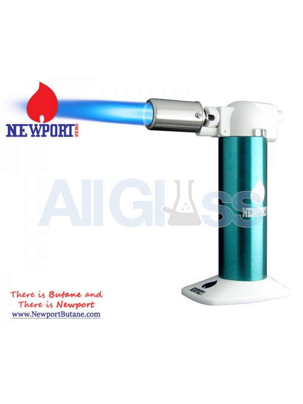 "Newport Zero 6"" Regular Torch - Green , Smoking Accessory - Newport Butane, AllGlass.com"