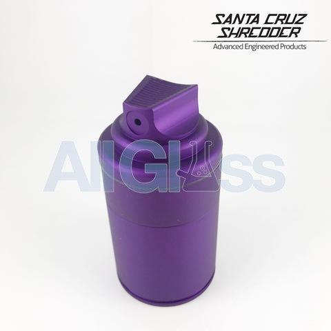 Santa Cruz Shredder x Vogue TDK Limited Edition 3 Piece Spray Can Shredder + Storage Container - Matte Purple