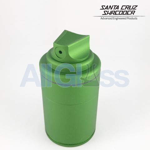Santa Cruz Shredder x Vogue TDK Limited Edition 3 Piece Spray Can Shredder + Storage Container - Matte Green