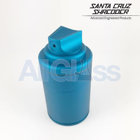Santa Cruz Shredder x Vogue TDK Limited Edition 3 Piece Spray Can Shredder + Storage Container - Matte Blue