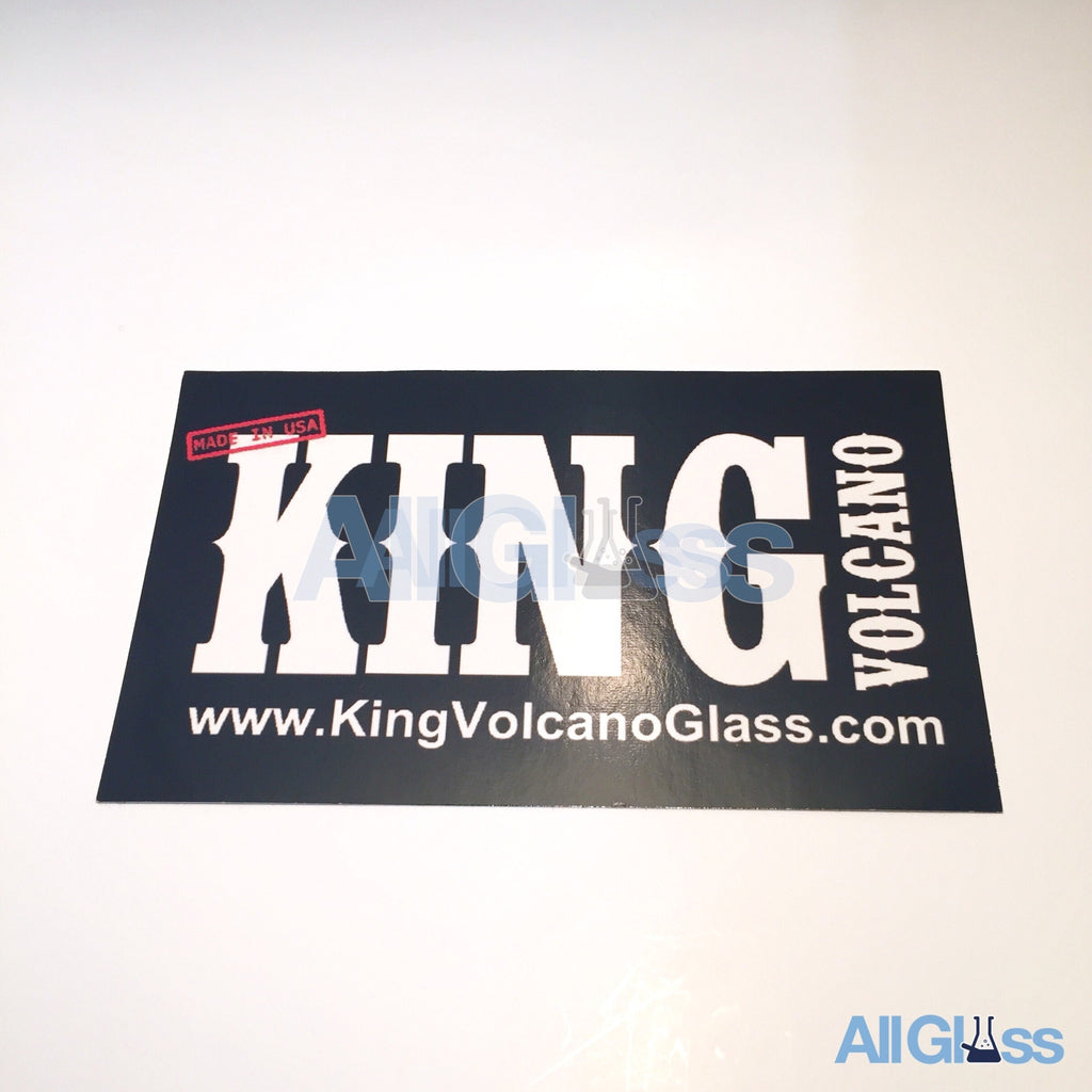 King Volcano Glass Sticker , Lifestyle - AllGlass.com, AllGlass.com