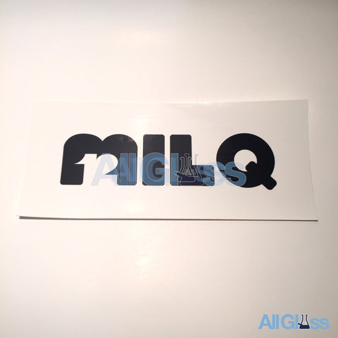 MILQ Glass Sticker - White , Lifestyle - AllGlass.com, AllGlass.com