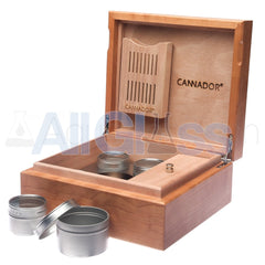 Cannador® - 5 Strain Cannabis Humidor - Cherry , Scientific Glass - AquaLab Technologies, AllGlass.com  - 4