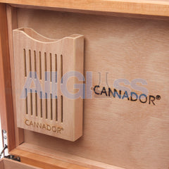 Cannador® - 5 Strain Cannabis Humidor - Cherry , Scientific Glass - AquaLab Technologies, AllGlass.com  - 5