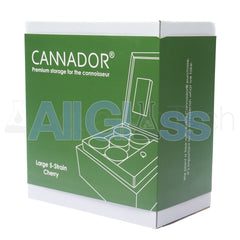 Cannador® - 5 Strain Cannabis Humidor - Cherry , Scientific Glass - AquaLab Technologies, AllGlass.com  - 6