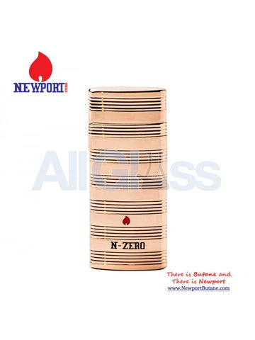N-Zero Premium Lighter - Gold , Smoking Accessory - Newport Butane, AllGlass.com  - 1