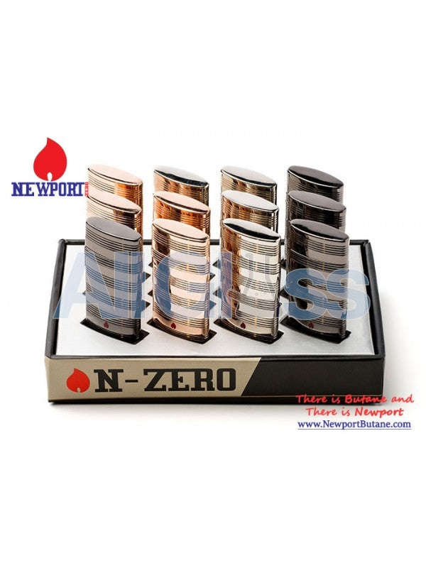 N-Zero Premium 12ct Lighter Box , Smoking Accessory - Newport Butane, AllGlass.com  - 1